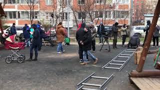 Гоша Куценко готовится к съемкам  фильма Врач