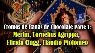 Video Cromos de Ranas de Chocolate Parte 1: Merlín, Cornelius Agrippa, Elfrida Clagg, Ptomolomeo download MP3, 3GP, MP4, WEBM, AVI, FLV Januari 2018