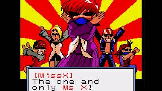 "Fighting Game Bosses 172. SNK Gals' Fighters - ""Miss X"" boss battle"