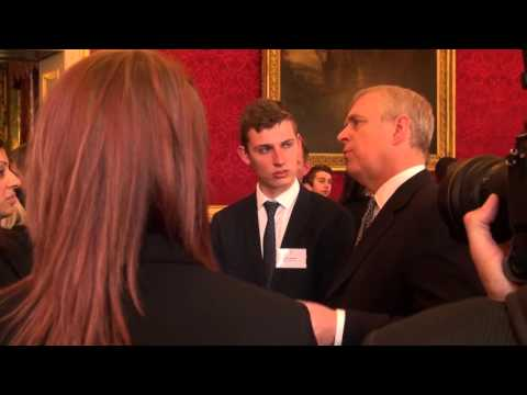 Duke of York gives royal approval for apprentices