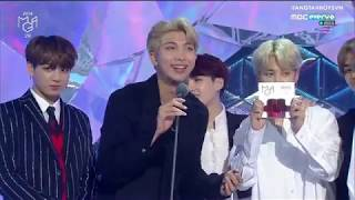 [VIETSUB] 181106 BTS wins Best Male Group @ 2018 MGA