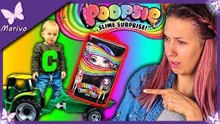 MIKOŁAJ SCHOWAŁ MI ZABAWKI?!  *byłam w szoku!* Poopsie Rainbow Surprise * Opening duża lalka Slime