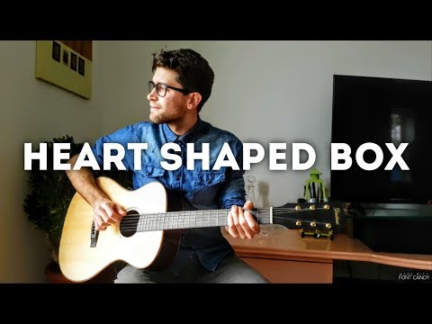 Heart Shaped Box - Nirvana (INSTRUMENTAL fingerstyle guitar cover) [+ FREE TABs]
