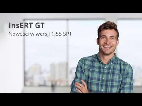 InsERT GT - nowości w wersji 1.55 SP1