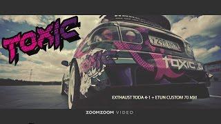 Honda Civic Toxic 2014(Автомобиль построен в Екатеринбурге, в сервисном центре «Хонда Эксперт». Пилот - Дмитрий Аверин. Спецификац..., 2014-08-21T17:47:36.000Z)