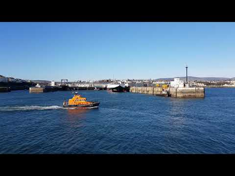 Port St. Mary Lifeboat in Douglas Harbour