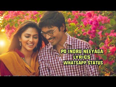 Po Indru Neeyaga Lyrics WhatsApp Status |...