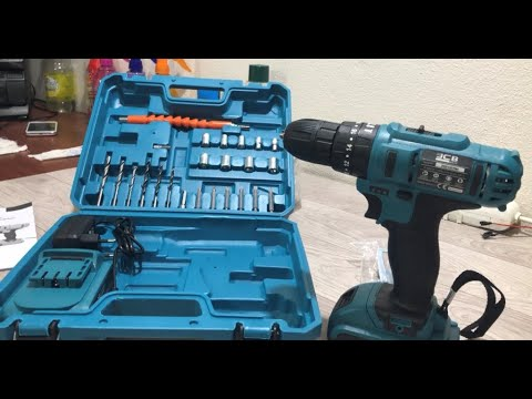 Graizer matkap - 48v 5a-çift akülü- darbeli