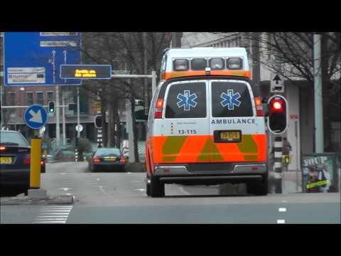 A1 ambulance 13-115 MUNTPLEIN AMSTERDAM