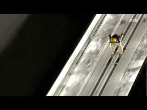 Worlds Longest Ski Jump 246m