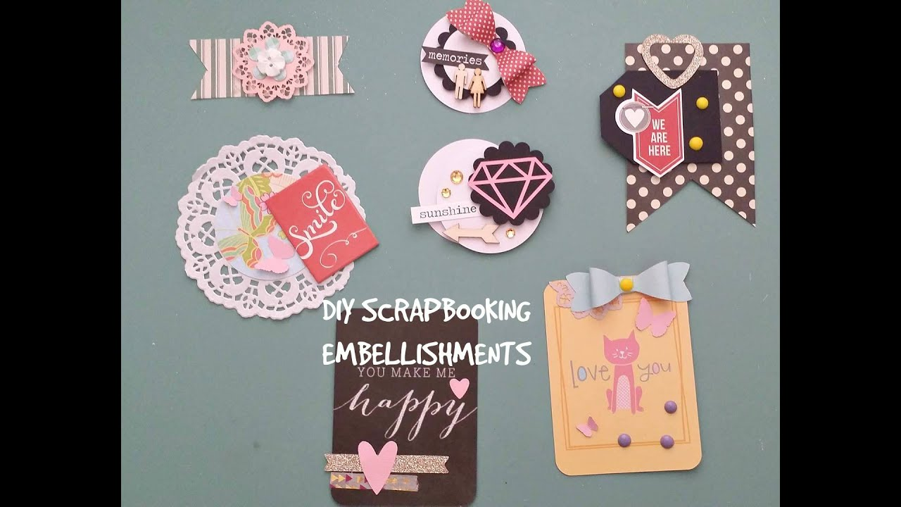 Diy Paper Crafts For Scrapbooking