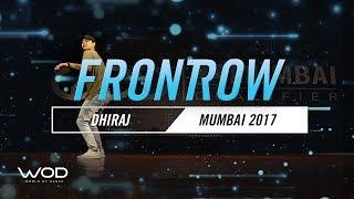 Dhiraj | FrontRow | World of Dance Mumbai Qualifier 2017 | #WODMUM17