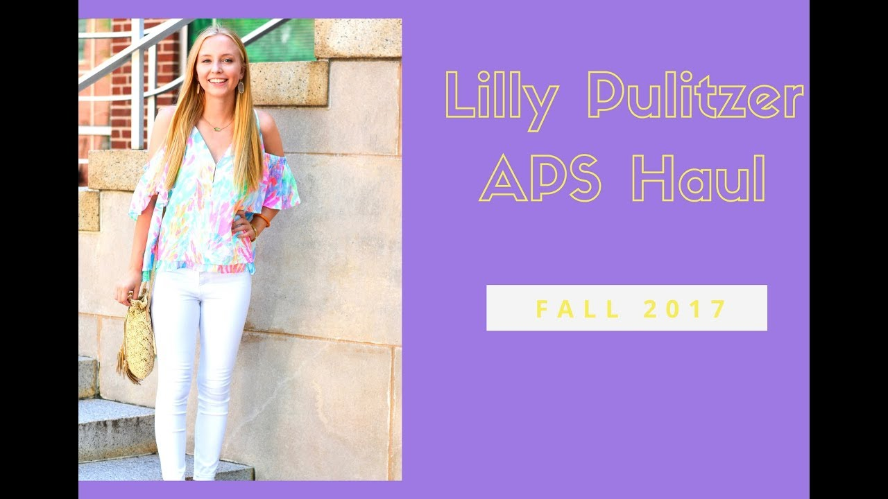 391f67fb7f9 LILLY PULITZER AFTER PARTY SALE HAUL 2017 - YouTube