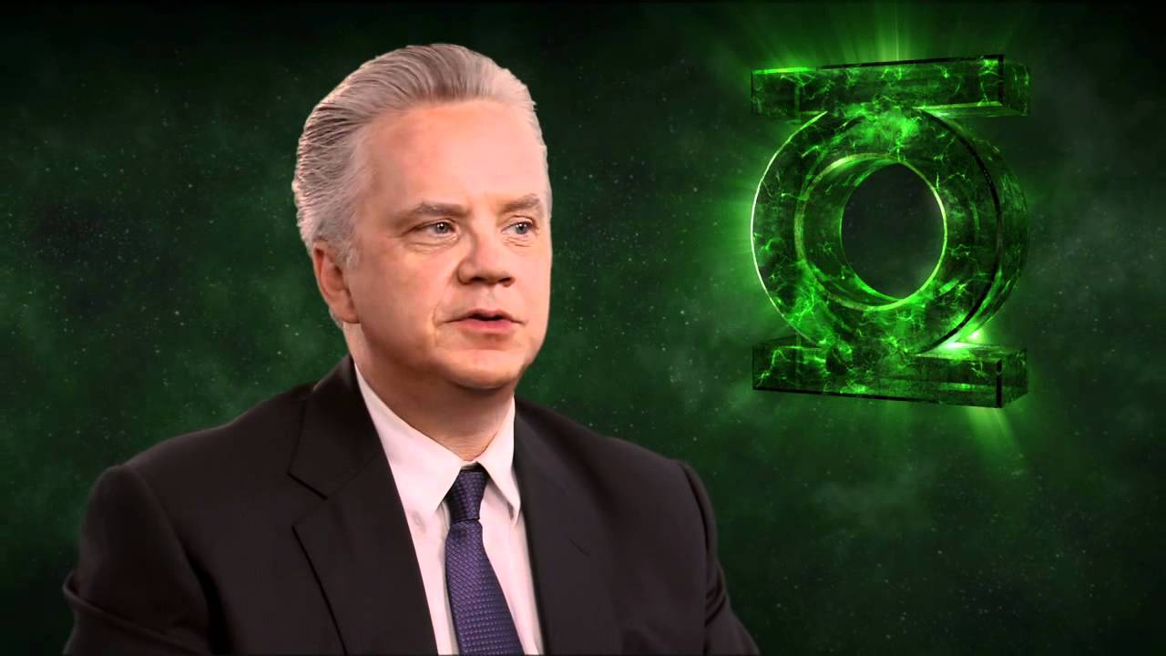 Tim Robbins 'Green Lantern' Interview - YouTube