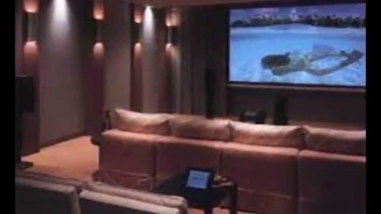 Home theater room installation in kerala contact for Small room movie theater