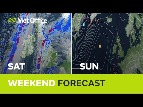 Weekend Weather - Less Wet, Still Cold 14/11/19