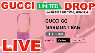 ROBLOX GUCCI LIMITED DROP LIVE (GG MARMONT BAG)