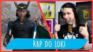 REACT Rap do Loki (Thor) - O DEUS DA MENTIRA | NERD HITS (7 Minutoz)