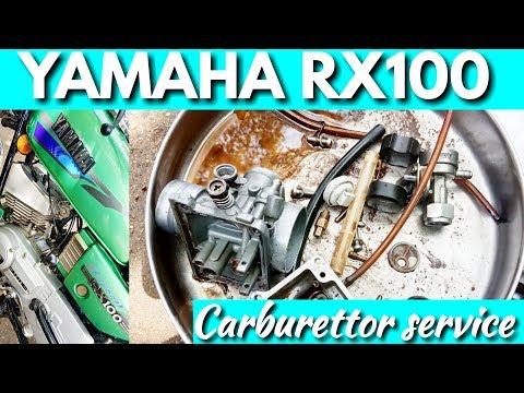 Yamaha RX100 carburettor service / Rockfort Motor Works