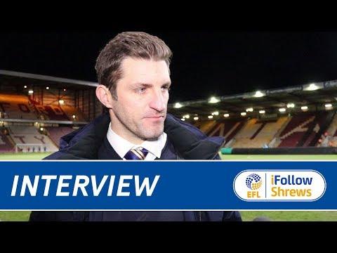 INTERVIEW   Sam Ricketts post Bradford - Town TV