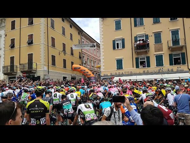 Giro dItalia 2018 partenza da Riva del Garda