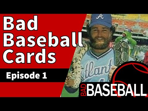 10 Ugly Bad Baseball Cards That Are Awful, Hideous, Terrible & Just Plain Wrong