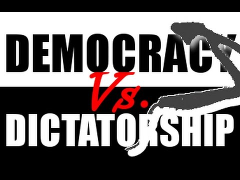 dictatorship is not better than democracy