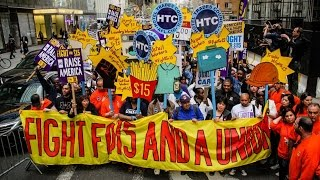 Minimum Wage Protests Break Out In 270 Cities