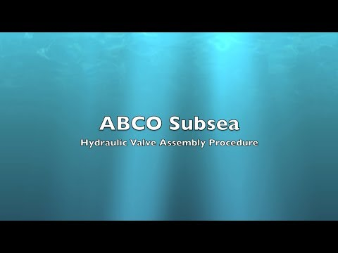 ABCO Subsea Multi-Input Shuttle Valve Assembly
