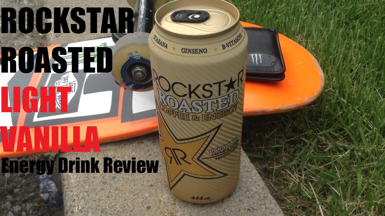 Energy Drink Review 88 Rockstar Roasted Light Vanilla Youtube