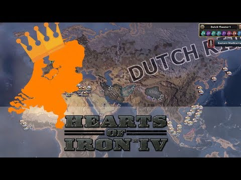 The Netherlands - World Conqueror - Hearts of Iron IV (Timelapse)