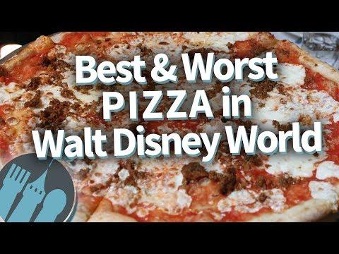 Best and Worst Pizza in Walt Disney World