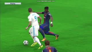 Pes 2017 uefa champions league final el classico (fc barcelona vs real madrid)