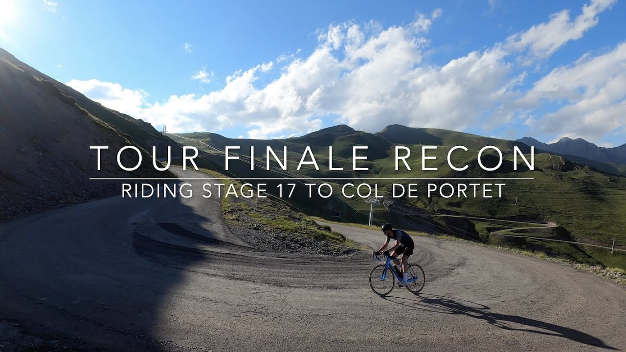 Riding the Pyrenean finale of the 2021 Tour de France, stage 17