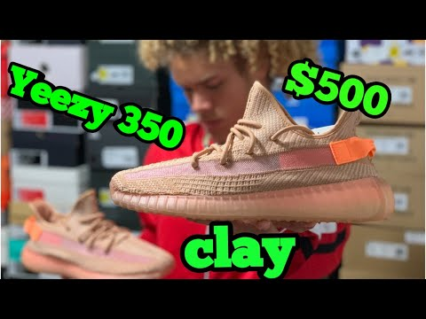 Yeezy 350 clay review - YouTube e8d2948bd