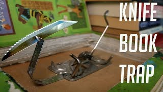 Throwing Knife Book Trap