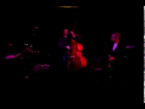 Jazz Bar Edinburgh, 2015. Campbell Normand Quartet. John Hunt, Ed Kelly, Bill Kyle Mack The Knife