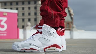 air jordan 6 alternate review on feet
