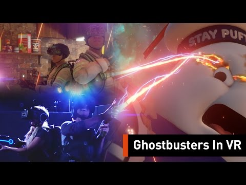 Become A Ghostbuster In This Virtual Reality Arena