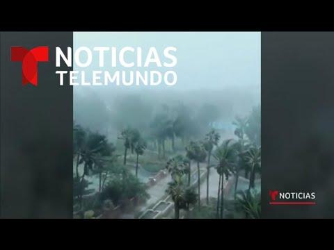 Dorian causa devastadores daños en las Bahamas   Noticias Telemundo