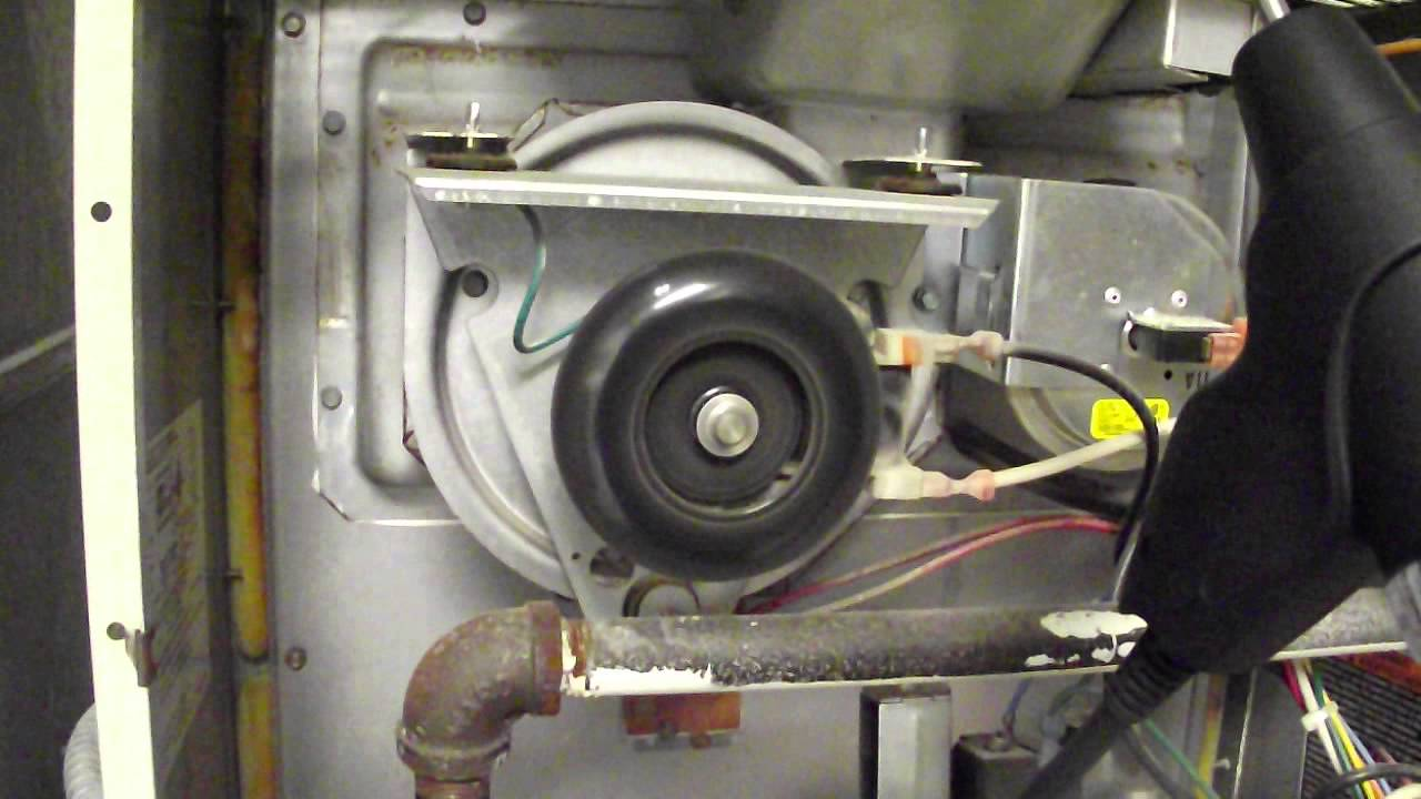 Carrier Furnace: Noisy Carrier Furnace Inducer Motor