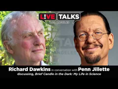 Richard Dawkins in conversation with Penn Jillette at Live Talks LA