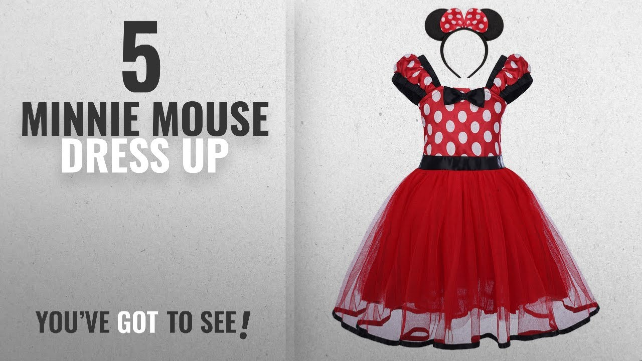 bd477324bae Top 10 Minnie Mouse Dress Up  2018   Baby Girls  Polka Dots Christmas  Birthday Princess Leotard