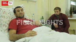 Эксклюзивное интервью Расула Мирзаева после нападения.