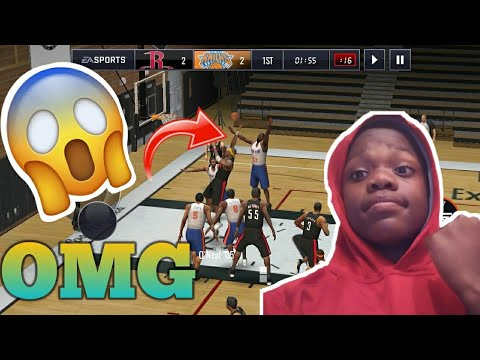 97 OVERALL ULTIMATE LEGEND JERMAINE O'NEAL GAMEPLAY INSANE NBA LIVE MOBILE 18
