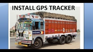 GPS Tracker for TATA truck and gps Tracker installation in TATA truck