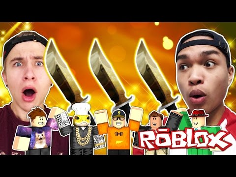 FULL CORRUPT KNIFE LOBBY WITH YOUTUBERS!!!