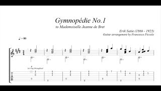 Video Chitarra Classica - Erik Satie - Gymnopédie No 1 download MP3, 3GP, MP4, WEBM, AVI, FLV Mei 2018