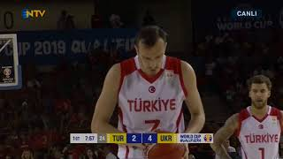 turkey vs ukraine--2019 fiba world cup qualifiers--round 5--[28/6/2018]