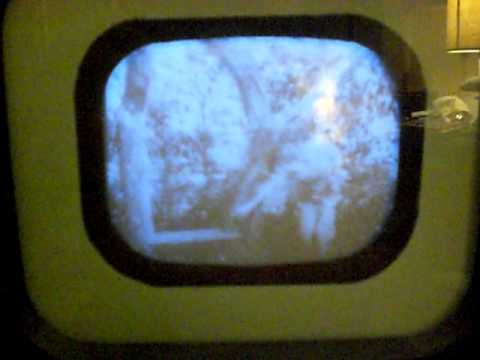 Early Prewar  TV, 1939 Television by RCA Victor, working TV  Part 2